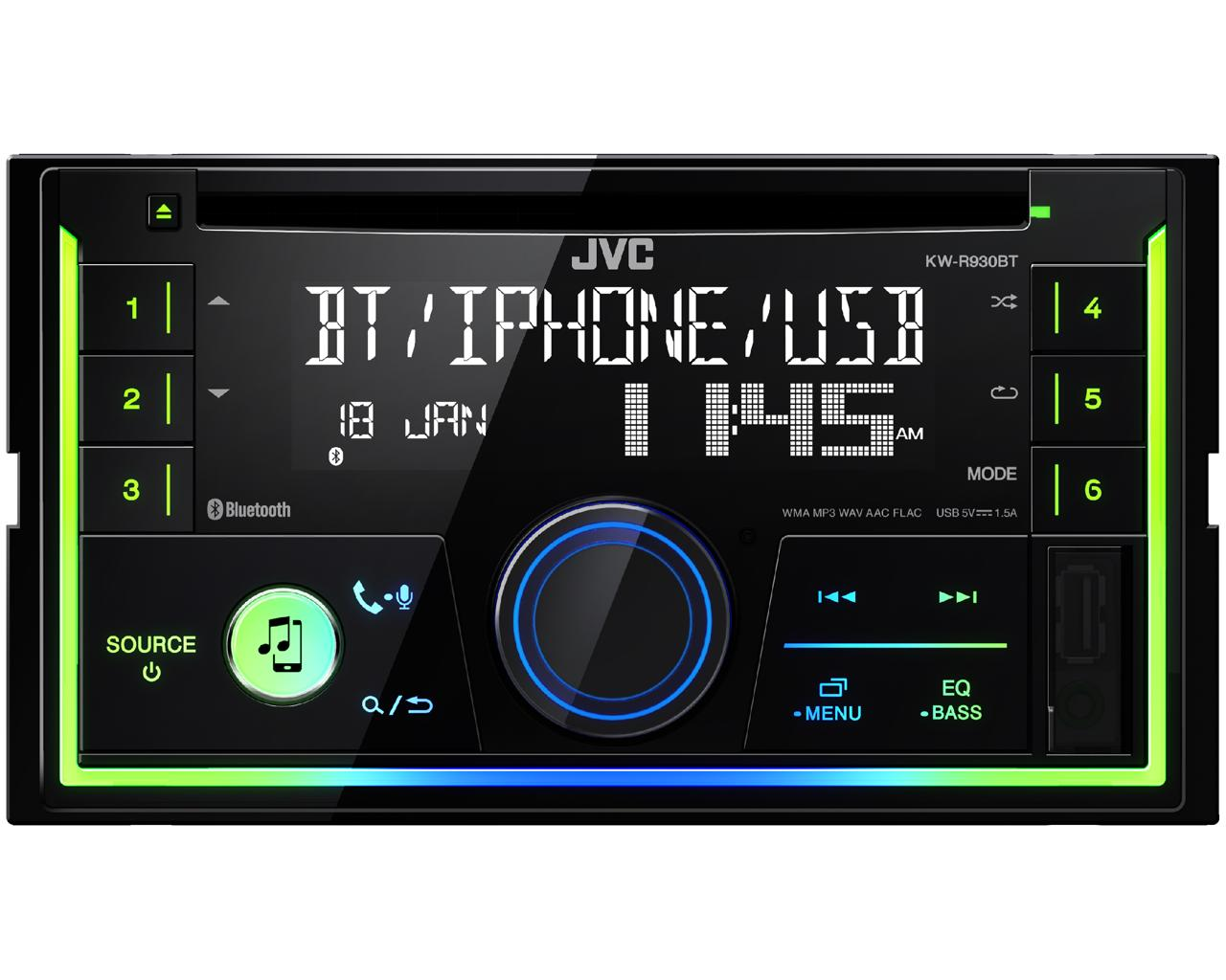 KW-R930BT Doppel-DIN CD-Receiver • JVC Deutschland