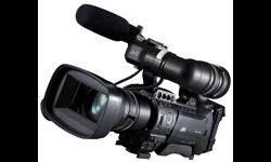 Image of Shoulder-mount live streaming ENG HD camcorder (GY-HM850RE)
