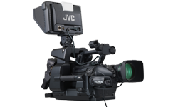 Image of Shoulder-mount/studio live streaming ENG HD camcorder (GY-HM890RE)