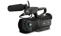 Image of Compact hand-held 4K camcorder (GY-HM170E)