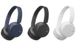 Image of Foldable Bluetooth on-ear headphones (HA-S35BT)