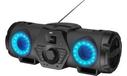 Image of BoomBlaster with CD, USB, Bluetooth Audio-Streaming and Built-in Battery (RV-NB200BTBP)