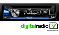 Image of 1-DIN CD Receiver (KD-DB97BTE)