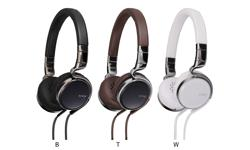 Image of esnsy series on-ear headphones with remote and mic (HA-SR75S-E)