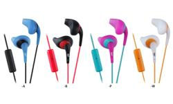 Image of In ear headphones with remote & mic (HA-ENR15-E)
