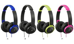 Image of Lightweight headphones (HA-S200-Z-E)