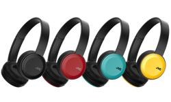 Image of Foldable Bluetooth on-ear headphones (HA-S30BT-E)