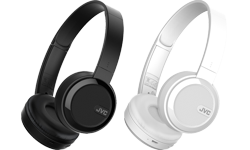 Image of Foldable Bluetooth on-ear headphones (HA-S40BT-E)