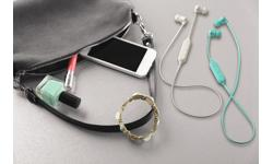 Image of Colourful wireless inner-ear headphones (HA-FX21BT-ZE)