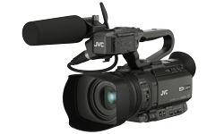 Image of Compact live streaming 4K camcorder (GY-HM200ESB)