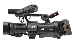 Image of Shoulder-mount live streaming ENG HD camcorder (GY-HM850RE)