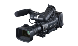 Image of Shoulder-mount/studio live streaming HD camcorder (GY-HM890RCHE)