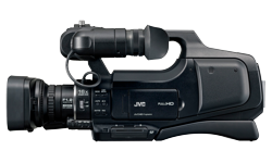 Image of Shoulder-mounted HD camcorder (GY-HM70E)