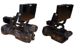 "Image of Monitor bracket for 7"" to 9"" Monitors on JVC camcorders (CDH-X7)"