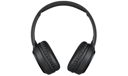 Image of On-ear Bluetooth wireless headphones (HA-S80BN-B-E)