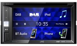 Image of 2DIN, CD/DVD/USB Multimedia system (KW-V255DBT)