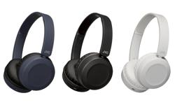 Image of Foldable Bluetooth on-ear headphones (HA-S31BT)
