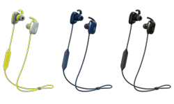 Image of Wireless sport headphones with voice coaching (HA-ET65BV)
