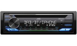 Image of 1-DIN CD Receiver (KD-DB912BT)