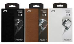 Image of esncy series inner ear headphones with remote and mic (HA-FR65S-E)
