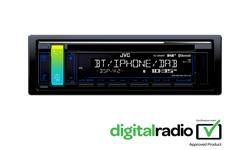 Image of 1-DIN CD Receiver (KD-DB98BT)