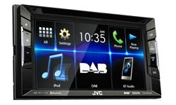 Image of 2DIN, CD/DVD/USB Multimedia system (KW-V235DBT)
